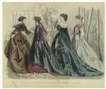 Les Modes Parisiennes, Peterson'S Magazine, May 1867.