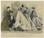 Les Modes Parisiennes, Peterson'S Magazine, June 1867.