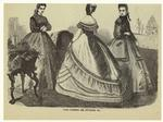 Paris Fashions For November, 1864.