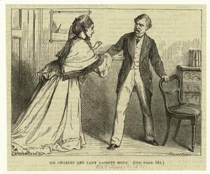 Sir Charles and Lady Bassett meet.