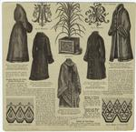 [Coats, cloaks, monograms
