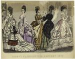 Godey's fashions for Janu