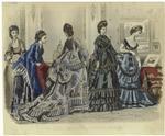 Les Modes Parisiennes, Peterson'S Magazine, June 1870.