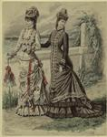 Women Outdoors, France, 20 Aout, 1876.