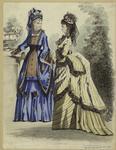 Women Outdoors, France, 1870s.