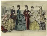 Les Modes Parisiennes : Peterson'S Magazine, August, 1870.