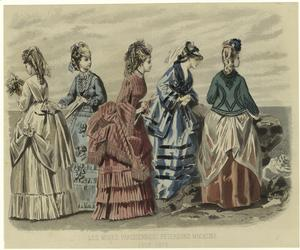 Les modes parisiennes : Peterson's magazine, July 1872.