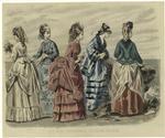 Les Modes Parisiennes : Peterson'S Magazine, July 1872.