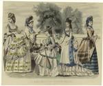 Les Modes Parisiennes : Peterson'S Magazine, August, 1872.