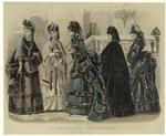 Les Modes Parisiennes : Peterson'S Magazine, November, 1872.