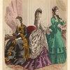 Women Indoors, France, 1870s.]