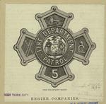 Fire Department badge.