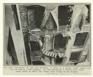 [Fire escape of Asch building ... Digital ID: 804790. New York Public Library