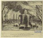 The fire of July 19, 1845 -- the view at Bowling Green.