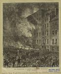 The destruction of Harper & Brothers' buildings.