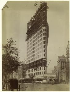 [Construction of Flatiron building, New York City.]