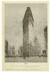"The ""Flatiron"" building, Broadway and Twenty-third Street."