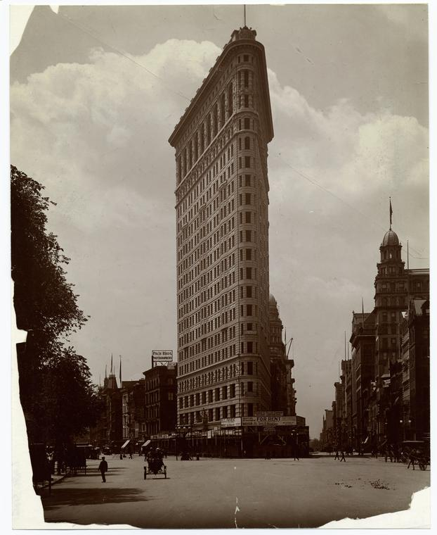 [Flatiron building, New York City.]