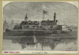 Fort George in 1740.