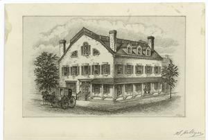 Fraunces' Tavern, N.Y.C., 1777.