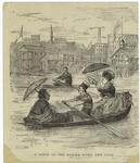 A scene on the Harlem River, New York