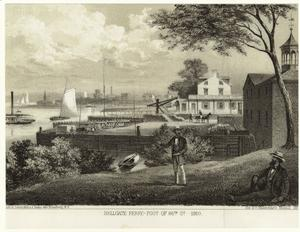 Hellgate ferry -- foot of 86th St. -- 1860.