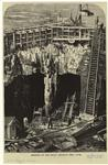 Opening of the shaft beneath Hell Gate