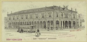 """New """"Herald"""" building."""