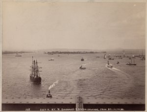 East R. N.Y. & Governor's & Staten Islands, from Brooklyn Br.