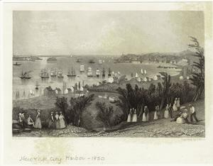 [New York Harbor, 1850s.]
