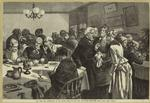 New York City -- Dinner-hour at the Chapin Home for the Aged and Infirm, Sixty-sixth Street, near Third Avenue