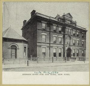 Hebrew Home for the Aged, New York.