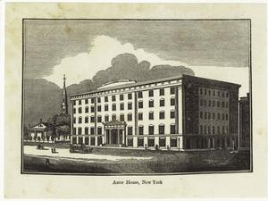 Astor House, New York.
