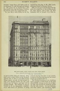 The Savoy Hotel, Fifth Avenue and Fifty-ninth Street.