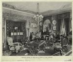 Drawing room of the royal suite in the Astoria.