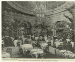 The famous Palm Room of the Waldorf-Astoria.
