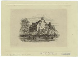 Van Rensselaer Manor House, New York, 1680.