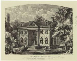 The Apthorpe mansion.