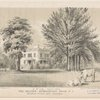 The Grange, Kingsbridge Road, N.Y., Residence Of Genl. Alexr. Hamilton.