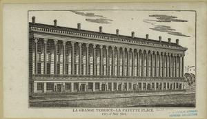 La Grange Terrace, La Fayette Place, city of New York.