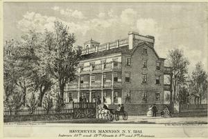 Havemeyer Mansion, N.Y., 1861.