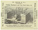 R. Hoe & Co., manufacture