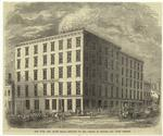 New York City Flour Mills, Situated On The Corner Of Broome And Lewis Streets.