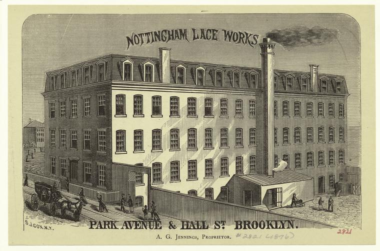 Nottingham Lace Works, Park Avenue & Hall St. Brooklyn.