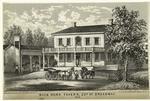 Buck Horn Tavern, 22nd St. Broadway, 1812.
