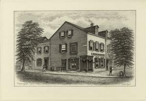 Old Grapevine Tavern, N.Y.C., 1851.