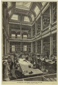 The North Room, Astor Library,... Digital ID: 805586. New York Public Library