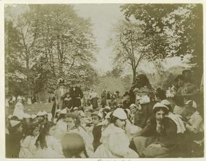 May party, Central Park, N.Y.C., ca. 1898.