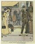 Craig Weston, in his yellow spats and gloves, with his bamboo cane, bacame a familiar figure on the Rialto