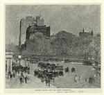 Madison Square And The Hotel Brunswick.